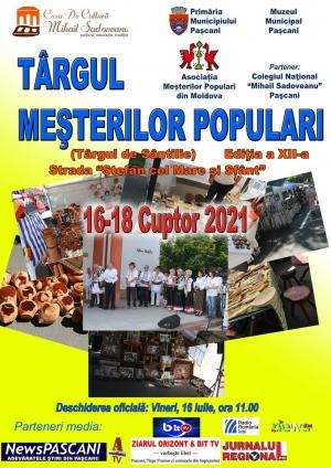 Read more about the article Târgul meșterilor populari, ediția a XII-a