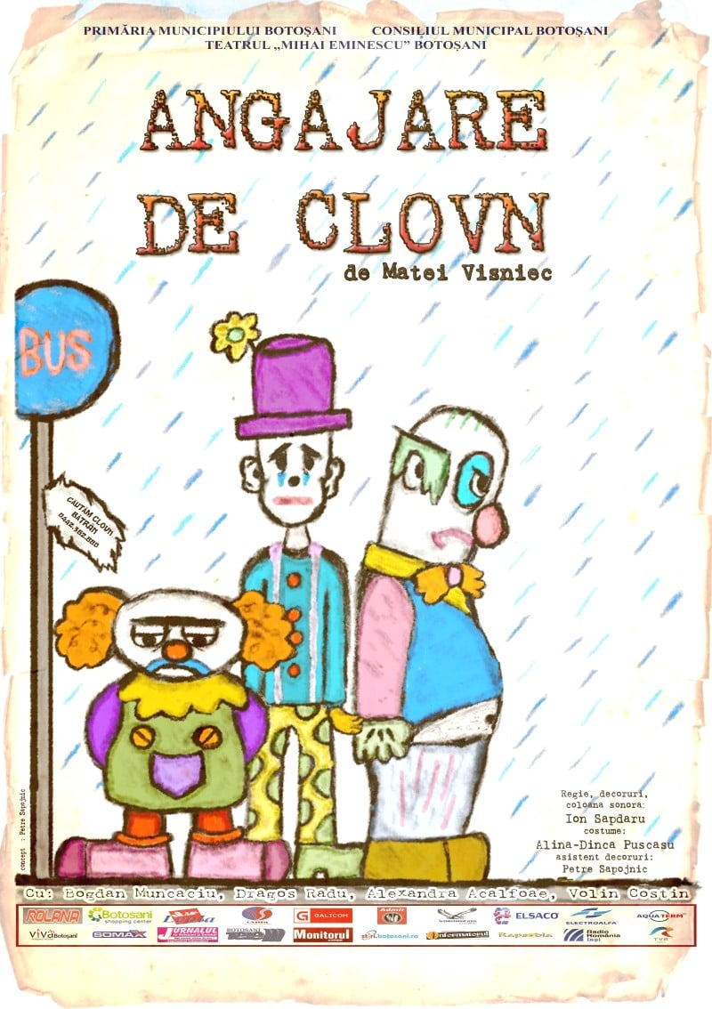 Read more about the article ANGAJARE DE CLOVN